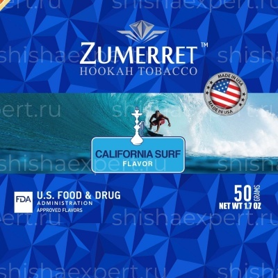Zumerret Blue Edition California Surf