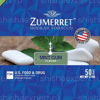 Zumerret Blue Edition Mint Gum