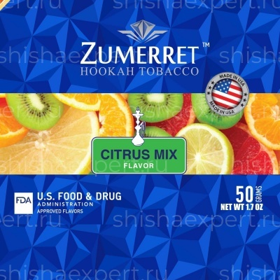 Zumerret Blue Edition Citrus Mix