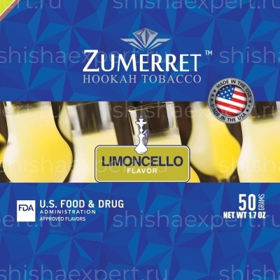 Zumerret Blue Edition Limoncello