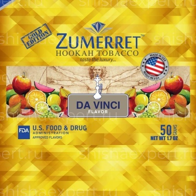 Zumerret Gold Edition Da Vinci
