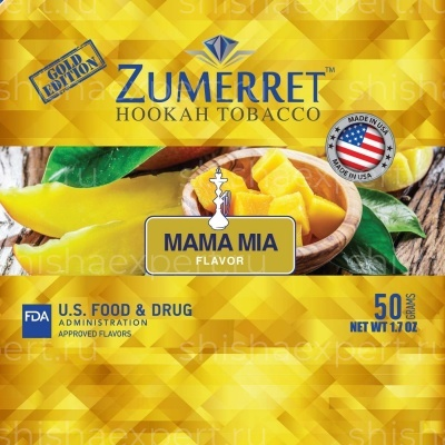 Zumerret Gold Edition Mama Mia