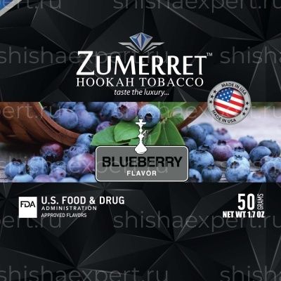 Zumerret Black Edition Blueberry